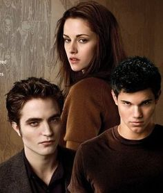 Twilight - Bella, Edward and Jacob