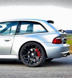 BMW Z3 M Coupe silver