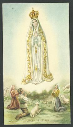 Our Lady of Fatima Blessed Mother Mary, Blessed Virgin Mary, Verge, Christian Images, Mama Mary, Lady Of Fatima, Holy Mary, Madonna, Jesus On The Cross