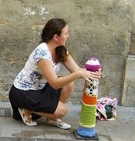 Urban Knitting in Valencia, Spain