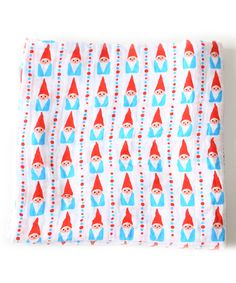 Another great find on #zulily! Oliver + Kit 47'' x 47'' Go Big or Go Gnome Muslin Swaddling Blanket by Oliver + Kit #zulilyfinds
