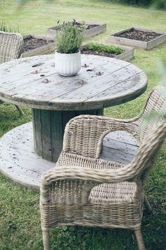 ulkona2 Outdoor Furniture Sets, Outdoor Decor, Outdoor Gardens, Wicker, Outdoor Living, Pergola, Ottoman, Outdoors, Chair