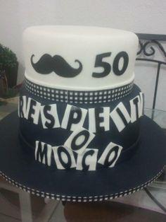 Bigode Grosso #cakedesign #cake #50anos #respeitaomoço #aniversario #bolo