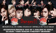 PREPARE YOURSELF YEOROBUN~ #BeSurvivalInKorea akan diadakan lagi di tahin 2015, ayooo nabung! nabung!