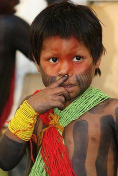 Índio Kaiapó - Brasil