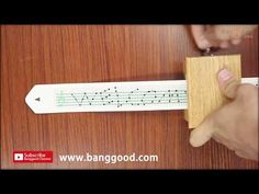 Diy hand cranked music box- how to make sheets for a music box - YouTube