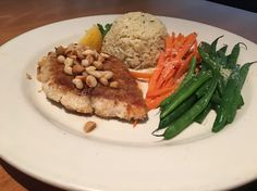 Let Scott's serve dinner tonight. Join us and try our Fresh Macadamia Crusted Alaskan Halibut.