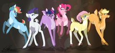 MLP Deer - A My Little Pony / Bambi crossover! I love mlp and deer this is the best thing ever! Dessin My Little Pony, My Little Pony Drawing, Mlp My Little Pony, My Little Pony Friendship, Rainbow Dash, Unicornios Wallpaper, Little Poni, Mlp Fan Art, M Anime