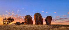Sunset at Murphy's Haystacks West Coast South Australia