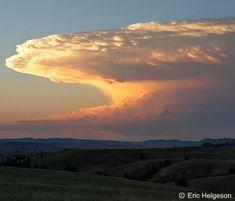 Supercell near Rapid City, SD Cumulonimbus Cloud, Mammatus Clouds, Supercell Thunderstorm, Thunderstorms, Tornado Clouds, Weather Storm, Cloud Atlas, Rapid City, Natural Wonders