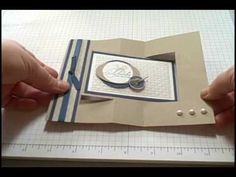 Swing cards are so much fun to make! Follow this step by step tutorial and you will be creating this fancy fold card in no time. Please visit my blog at www.dreamingaboutrubberstamps.com