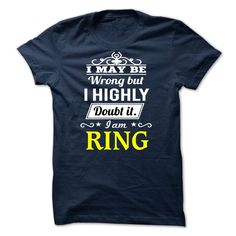 RING I may be Team T-Shirts, Hoodies. Check Price Now ==► https://www.sunfrog.com/Valentines/RING--I-may-be-Team.html?41382