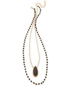 Layered Onyx Necklace