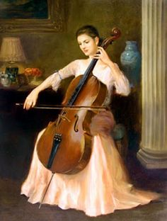 ♪ The Musical Arts ♪ music musician paintings - Kelvin Lei