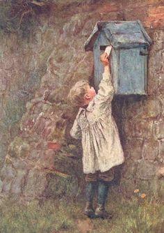 """""""Her Majesty's Post Office""""   Helen Allingham, 1903"""