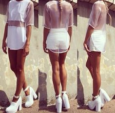 shirt white white shirt white top mesh sheer see through white see through cute fashion shoes t-shirt white mesh tshirt top tshirt dress oversized t-shirt