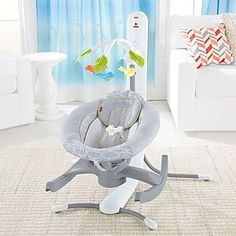 Check out the 4-in-1 Smart Connect Cradle 'n Swing - Techno Gray (DRP20) at the official Fisher-Price website. Explore all our baby and toddler gear, toys and accessories today!