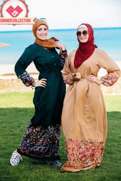maxi hijab fashion dresses