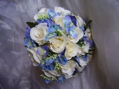 Free Delivery Vintage Wedding Bouquet. Artificial by AWUEvents