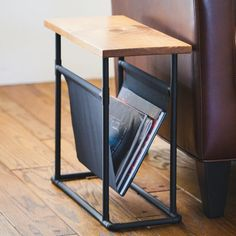 DIY Side Table and Magazine Rack | eHow Home | eHow
