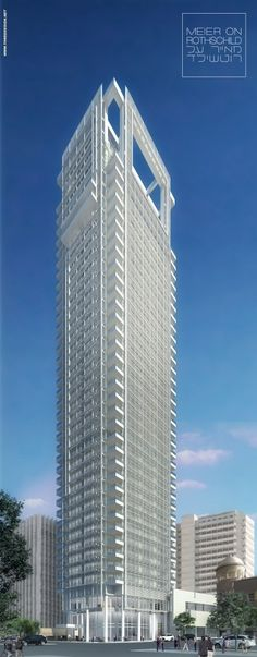 New #TelAviv High-Rise By #RichardMeier Nears Completion #architecture ☮k☮