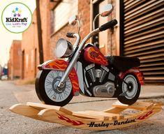 Harley Davidson Roaring Softail Rocker