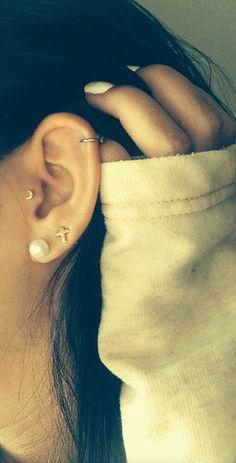 Cute piercings.