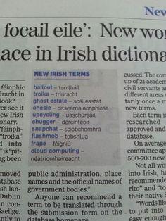 New Irish vocabulary Gaelic Quotes, Gaelic Words, Irish Quotes, Scottish English, Scottish Gaelic, World Languages, European Languages, Welsh Language, Irish Proverbs