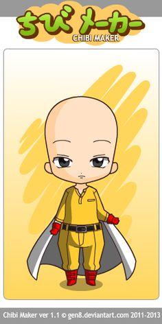 Saitama (One punch man) Chibi Maker