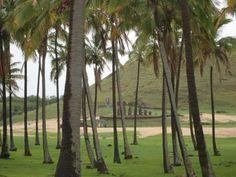 Anakena. Rapa Nui