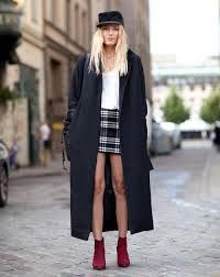 fall outfits street styles grey coat - Google Search