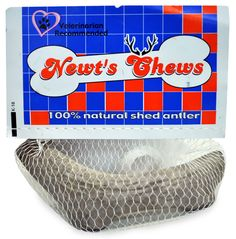 Newt's Chews Natural Shed Deer Antler - Small 4.5` - 7` - Dog treats - $4.69