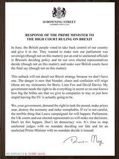 """BoingBoing: RT davidschneider: David Cameron's resignation statement in full."