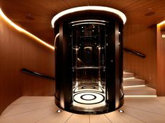 Numptia Luxury Yacht- Lift Lobby