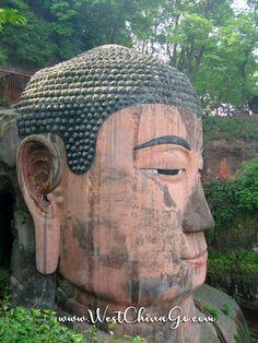 LeShan Giant Buddha Tours ChengDu WestChinaGo Travel Service www.WestChinaGo.com Tel:+86-135-4089-3980 info@WestChinaGo.com Giant Buddha, Chengdu, Tours, Travel, Viajes, Destinations, Traveling, Trips