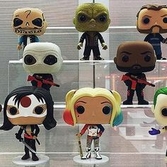 Hot: Funko shares sneak peek at Suicide Squad Captain America: Civil War figures at Toy Fair 2016