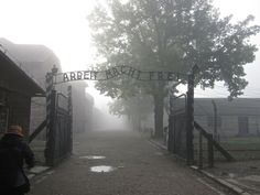 Memorial and Museum Auschwitz-Birkenau, Oswiecim, Poland — by Traveling Mile Markers. We took an overnight train from Budapest, Hungary landing us in Oswiecim, Poland at 04:35AM. The train station was...