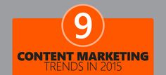 Whether you realize it or not, chances are your business is already using content marketing as part of your overall marketing strategy. Here's a list of the top 9 content marketing trends for 2015.