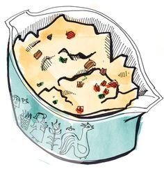 Helen Jane's recipe for German Potato Salad. mmmm...