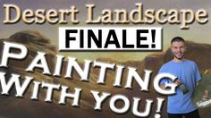 In this finale episode of the Desert Landscape painting, we added in some final details and put the painting in a frame! If you missed any of the previous episodes, be sure to watch them and see how we created this painting! Also, be sure to vote for what subject you would like for the next Interactive painting! To vote, please visit: www.paintwithkevin.com/vote