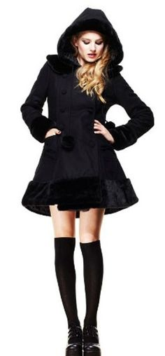 Hell Bunny // Hell Bunny Sarah Jane Coat Black