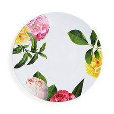 Kate Spade New York Patio Floral Melamine Dinner Plate