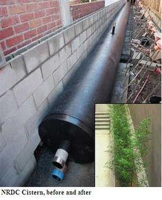 rainwater harvesting requires onsite storage