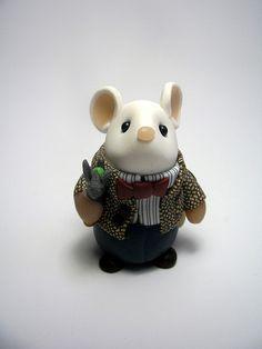 :: Crafty :: Clay :: Dr Who Mouse (Matt Smith)