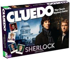 The New Edition of Cluedo Stars Sherlock |
