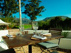 17 restaurants with awesome outdoor seating in Cape Town - Eat Out Outdoor Seating, Outdoor Decor, Best Places To Eat, Cape Town, Restaurants, Outdoors, Outdoor Furniture, Awesome, Table