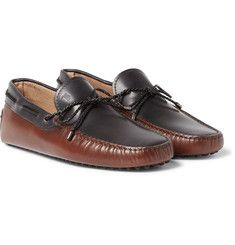 Tod's - Two-Tone Leather Driving Shoes