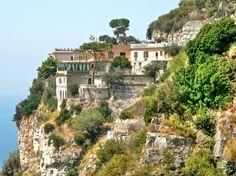 Homes along the Amalfi Coast (Sorrento to be exact)