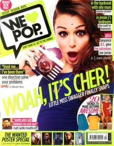 Cher Lloyd on the cover of We <3 POP ?