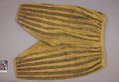 breeches of yellow cloth lined with natural linen... 1611-32